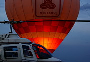 Hot Air Balloon Prints - Night Flight Print by Robert Frederick