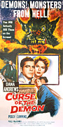 1957 Movies Framed Prints - Night Of The Demon, Aka Curse Of The Framed Print by Everett