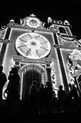 Nighttime Religious Celebrations Print by Gaspar Avila