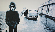 Bob Dylan Paintings - No Direction Home by Luis Ludzska