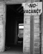 Bryan Steffy Posters - No Vacancy Poster by Bryan Steffy