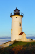 Massachusettes Prints - Nobska Point Light Print by John Greim