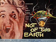 Jbp10ma21 Prints - Not Of This Earth, Beverly Garland Print by Everett