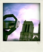 Binoculars Photos - Notre Dame de Paris. France by Bernard Jaubert
