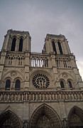 National Treasure Acrylic Prints - Notre Dame Acrylic Print by Robert  Torkomian