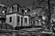 Old Homes Photos - Now has Past 2 by Chuck Alaimo