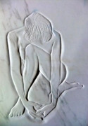 Nudes Reliefs - Nude Resting by Gary Stull