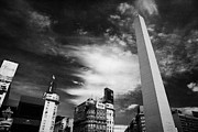 Ciudad Prints - Obelisco Obelisk In Plaza De La Republica Capital Federal Buenos Aires Republic Of Argentina Print by Joe Fox