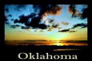 Colorful Photography Posters - Oklahoma Poster by Karen M Scovill