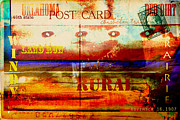 Postcard Art - Oklahoma  by Toni Hopper