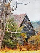 Tennessee Barn Digital Art Posters - Old Barn at Cades Cove Poster by Todd A Blanchard