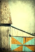 Colorful Photography Posters - Old Barn Poster by Sophie Vigneault