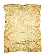 Tattered Posters - Old brown paper Poster by Blink Images