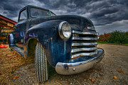 Rusty Pickup Truck Photos - Old Chevy by Mike Horvath