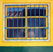 Frame House Photos - Old Chinese Farmhouse Window by Yali Shi