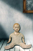 Run Down Photo Posters - Old Doll Poster by Joana Kruse