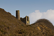 Kernow Photos - Old Engine House by Brian Roscorla
