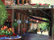 Cannas Framed Prints - Old Market-12th and Howard Framed Print by Jacki Newell
