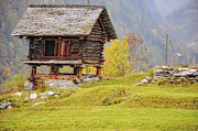 Old Stone House Photos - Old rustic house by Mats Silvan