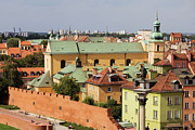 Old Town In Warsaw Print by Artur Bogacki