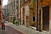 Motor Metal Prints - Old town of Sanremo Metal Print by Joana Kruse