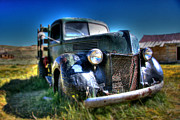 Ghost Town Photo Posters - Old Truck at Bodie Poster by Chris Brannen