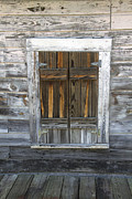 Ventage Framed Prints - Old Window Framed Print by Robert Graybeal
