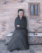 Judy Kirouac - Old Woman Waiting