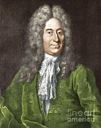 Roemer Framed Prints - Ole Roemer, Danish Astronomer Framed Print by Science Source