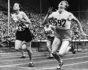 Footrace Photo Prints - Olympic Games, 1948 Print by Granger