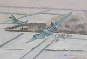 Bombercommand Paintings - Operation Jericho  by Murray McLeod