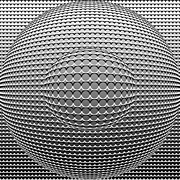Optical Illusion Digital Art Posters - Optical Illusion Circle In Circle Poster by Sumit Mehndiratta