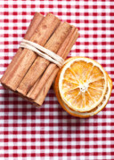 Sliced Prints - Orange and Cinnamon Print by Nailia Schwarz