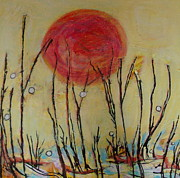 Francine Ethier - Orange Sunset