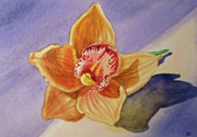 Thank You Card Prints - Orchid Print by Irina Sztukowski