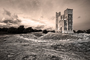 Orford Framed Prints - Orford Castle Framed Print by Darren Burroughs
