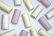 Food And Beverage Photos - Organic Marshmallows by Joana Kruse