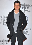 2010s Fashion Framed Prints - Orlando Bloom At Arrivals For The Good Framed Print by Everett