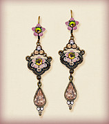 Gift Jewelry - Orly Zeelon The Royal Arabesque Flower Earrings by Orly Zeelon