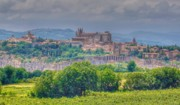 Northern Italy Framed Prints - Orvieto Italy Hill Town Framed Print by Trent Saviers