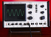 Alternating Current Photos - Oscilloscope Wave Form by Andrew Lambert Photography