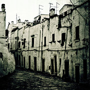 Scary Houses Framed Prints - Ostuni - Apulia Framed Print by Joana Kruse
