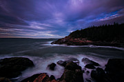Maine Photographs Prints - Otter Point Sunrise Print by Chad Tracy