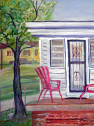 Back Porch Paintings - Our House by Ben Arthur
