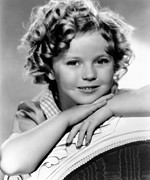 Colbw Prints - Our Little Girl, Shirley Temple, 1935 Print by Everett