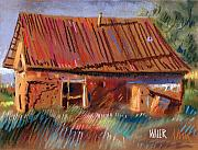 New Mexico Originals - Outbuilding by Donald Maier