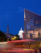 Capitol Building Photos - Overture Center on State Street in Madison Wisconsin by Michael Dykstra