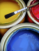 Idea Photos - Paint Cans by Carlos Caetano