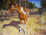 Pinto Painting Originals - Painted Paint by Jody Swope
