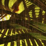 Leafy Mixed Media - Palm B1 by Kaypee Soh - Printscapes